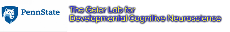 The Geier Lab for Developmental Cognitive Neuroscience and Addiction